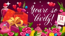 You Are So Lovely Vector Card ...