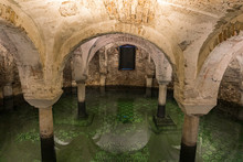 Crypt Under Water In Basilica ...