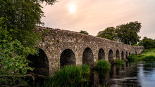 Old 12th Century Stone Arch Br...