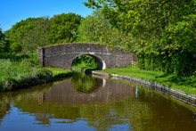 Old Man´s Bridge No 38 Over The Llangollen Canal Near Whitchurch In Shropshire, UK