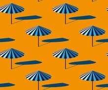 Seamless Summer Beach Pattern....