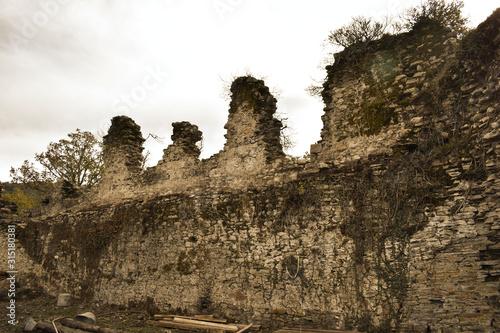 Photo castle wall in Balboa