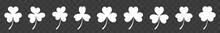 Shamrock Icon White | Shamrock...