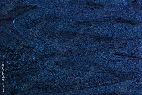Photo Liquid texture of nail polish.Abstract background.