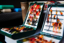 Fly Fishing Hook Reels In Tackle Boxes