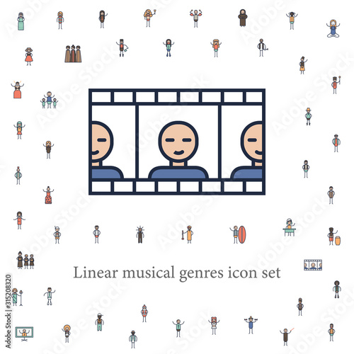 Photo  soundtrack musician icon