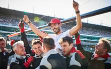 Formula One Racing Team Carryi...