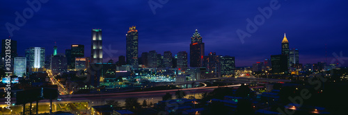 Photo Atlanta Skyline (After Olympics), Georgia