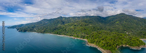 Photo Playa Hermosa, Puntarenas, Osa, Costa Rica.
