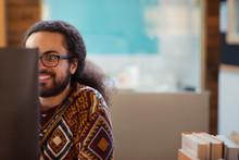 Smiling Creative Businessman W...