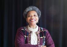 Portrait Confident, Smiling Senior Woman