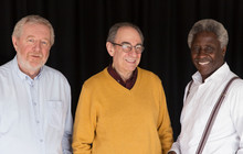 Portrait Confident Senior Men
