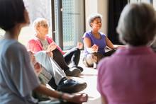Serene Active Seniors Meditati...