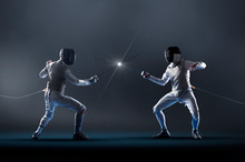 Men Electric Epee Fencing