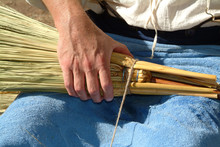 Old Fashioned Broom Makig