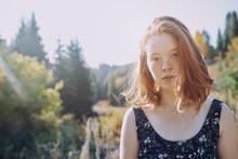Portrait Confident Young Woman...