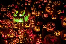 Jack O'lantern Trail At The Mi...