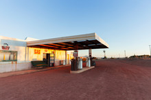 Abandoned Gas Station And Gara...