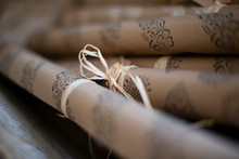 Close Up Rolled Stamped Craft ...