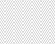 Leinwanddruck Bild - Chevrons Abstract Pattern Texture or Background