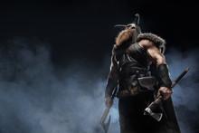Medieval Warrior Berserk Vikin...