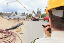 Construction Supervisor In Wheelchair