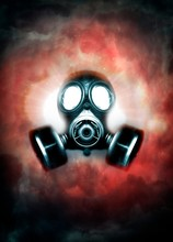 Gas Mask, Illustration