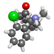 Esketamine Drug Molecule