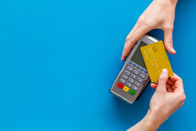 Contactless Payment, Paypass. ...