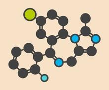Midazolam Benzodiazepine Drug ...