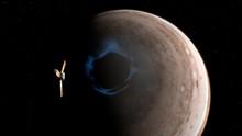 Juno And Jupiter's Aurorae, Il...