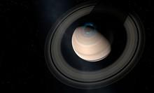 Aurorae On Saturn, Illustration