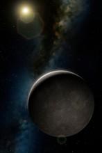 Artwork Of Planet Mercury