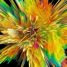 Abstract Burst, Artwork