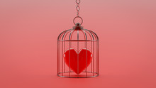 Heart Is Locked In A Cage.
