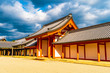 Leinwanddruck Bild - 日本 京都観光 京都御所