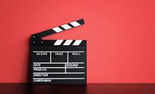 Blank Film Clapper Board Or Mo...