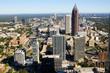 View of Downtown Atlanta, Georgia, taken October 2016.