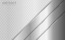Shinny Metal Silver Background...