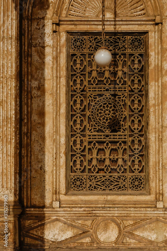 Cairo, Egypt The grounds of the Muhammed Ali mosque Canvas Print