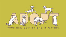 Dog Adoption Event Poster