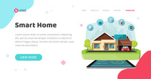 Smart Home Of House Control Te...