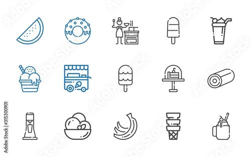 Fotografía  tasty icons set