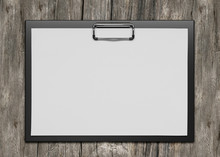 Plastic Clipboard With Blank P...