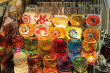 Colorful Lamps Oriental Turkis...