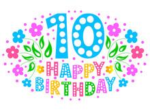 10th Anniversary Celebration C...
