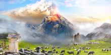 Vulcano Ereptuion Pompeii Ital...