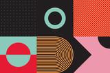 Brutalism Design Abstract Vector Pattern - 315314384