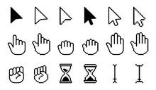 Pointer Cursor Icons. Computer...