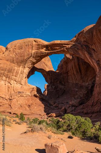 Fotografija Double Arch, Arches National Park, Utah